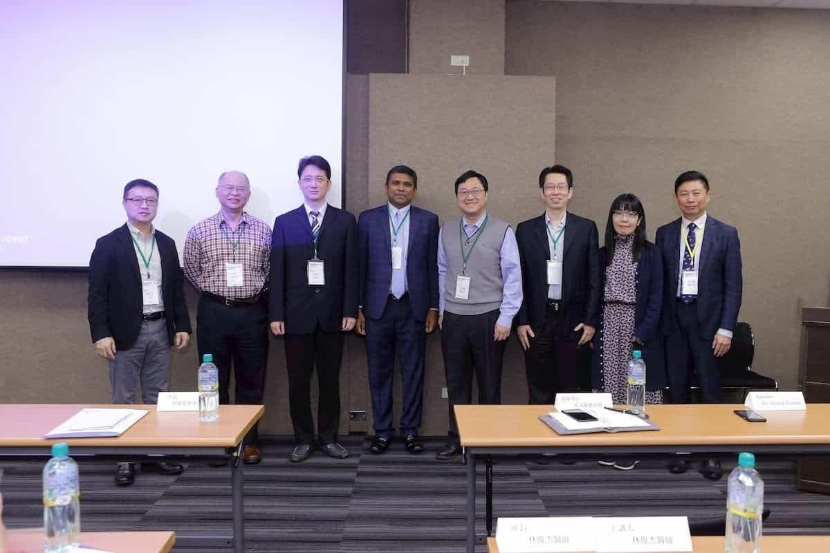 2019年十二月CES療法學術研討會與會講者合照